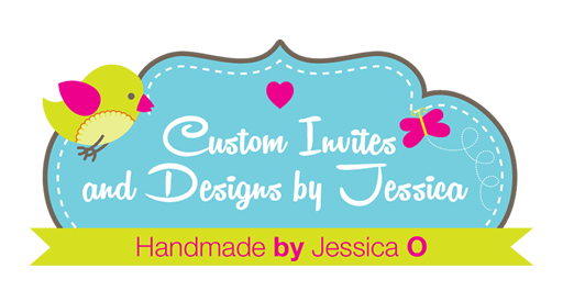 Logo hand made custom invitations